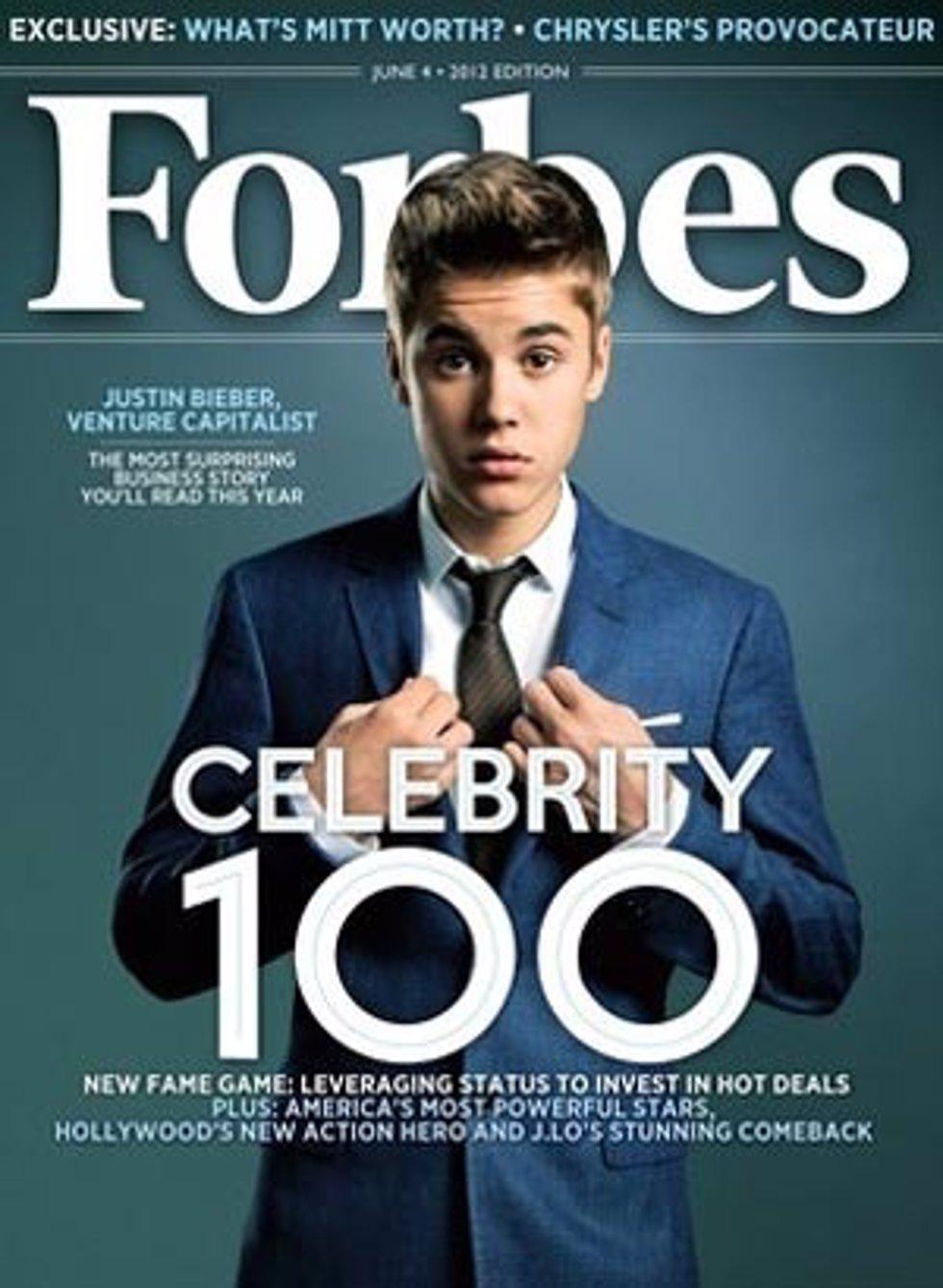 Justin Bieber para Forbes