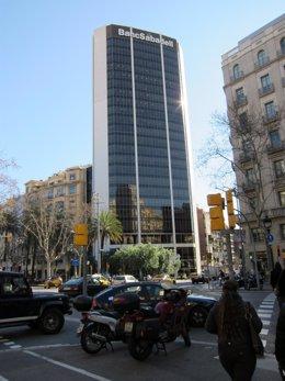 Sede De Banc Sabadell En Barcelona