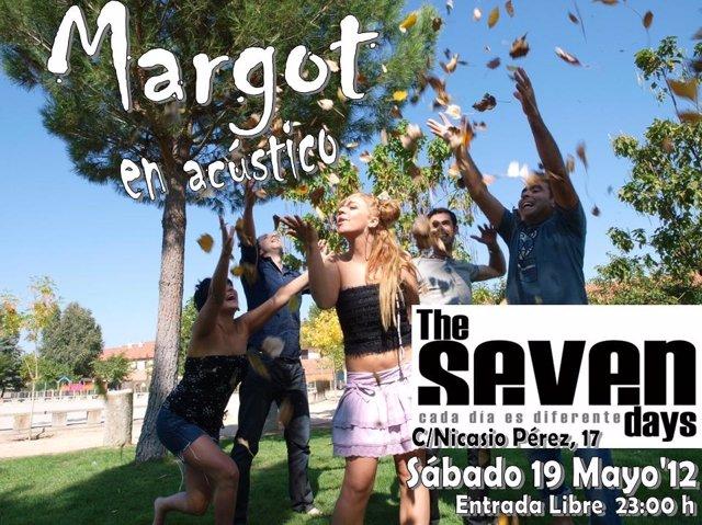 Cartel Del Concierto De Margot