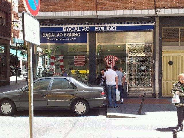 Tienda De Bacalao Eguino, En Barakaldo