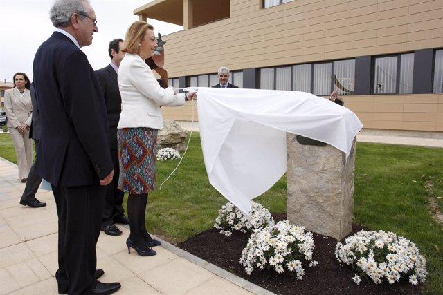 La Presidente De Aragón, Luisa Fernanda Rudi, Inaugura La Residencia De ASPANOA