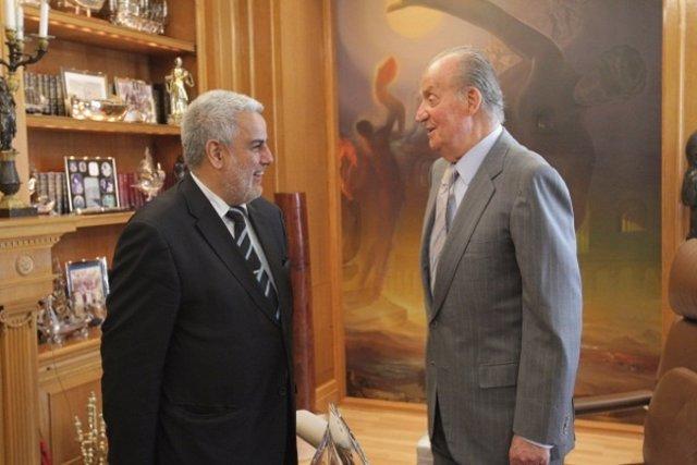 Abdelilah Benkirane Con Don Juan Carlos