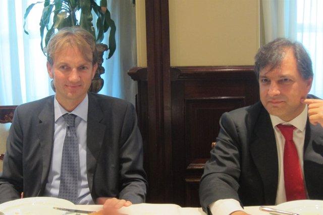 Director Financiero De Meliá Hotels Y El Presidente De Econocom