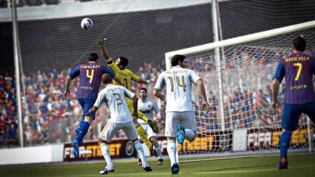 Imagen Del Videojuego Fifa 12