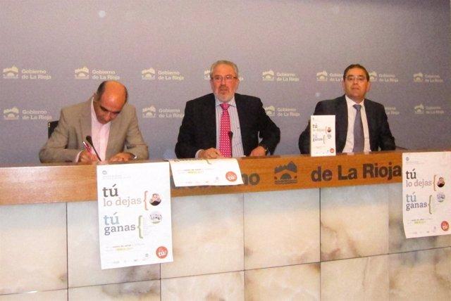 Tomás García, José Ignacio Nieto Y José Miguel Acitores