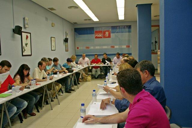 Ejecutiva PSOE Cáceres