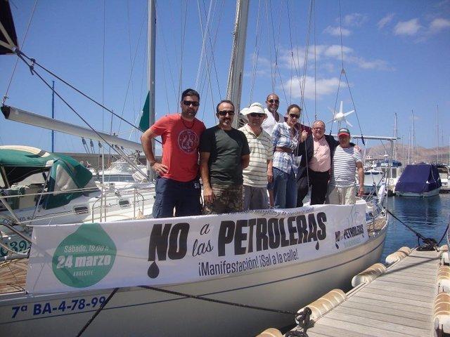 El 'No A Las Prospecciones, Sí A Las Renovables' Viajará Por Las Islas Canarias