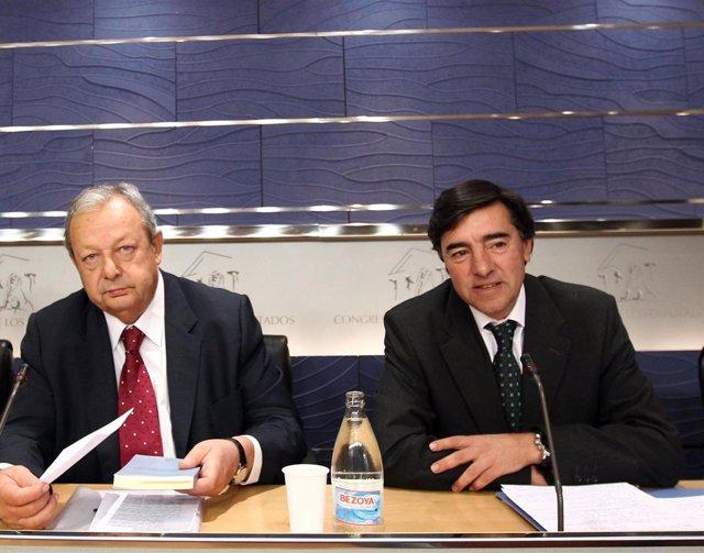 José María Benegas y José Antonio Bermúdez de Castro