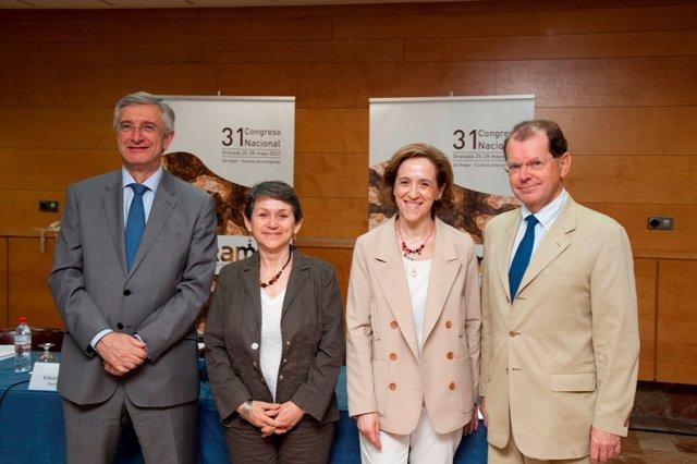 Eduardo Fraile, Carmen Ayuso, Laura Oleaga Y Éeamann Breatnach