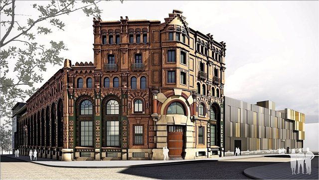 Empresas edificios barcelona trendy instalacin de una for Endesa oficinas barcelona