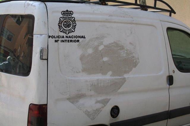 La Policía Nacional Detectó La Furgoneta Del Robo