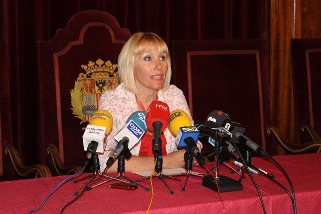 La Subdelegada Del Gobierno En Lleida, Inma Manso
