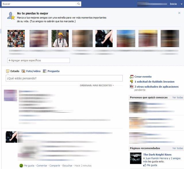 Sigue todos los movimientos de un contacto en FB marcando con una ...