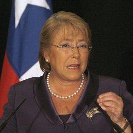 Ex presidenta de Chile, Michelle Bachelet