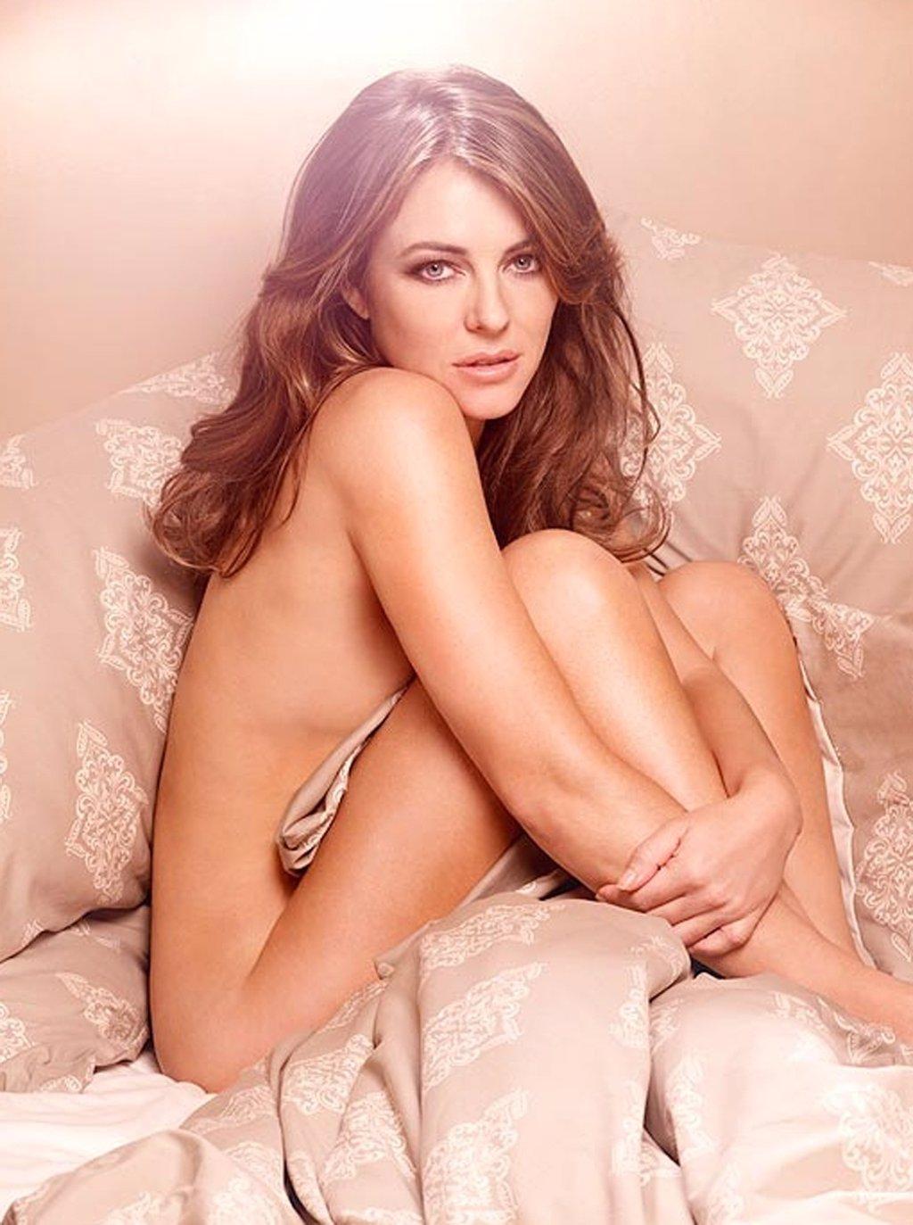 Aida Nizar Desnuda elizabeth hurley se desnuda para promocionar su propia línea