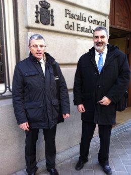 El Presidente De CIC, Gonzalo Postigo, Y El Secretario General, Jordi Oller