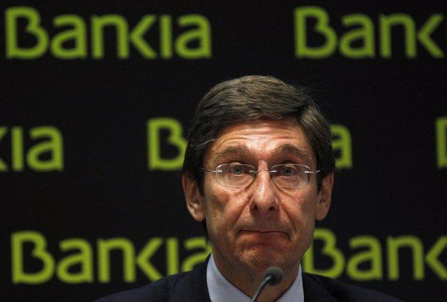 El Presidente De BFA-Bankia, José Ignacio Goirigolzarri
