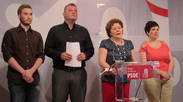 Rosique Y Mármol En Rueda De Prensa