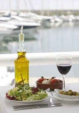 Dieta mediterránea, aceite de oliva
