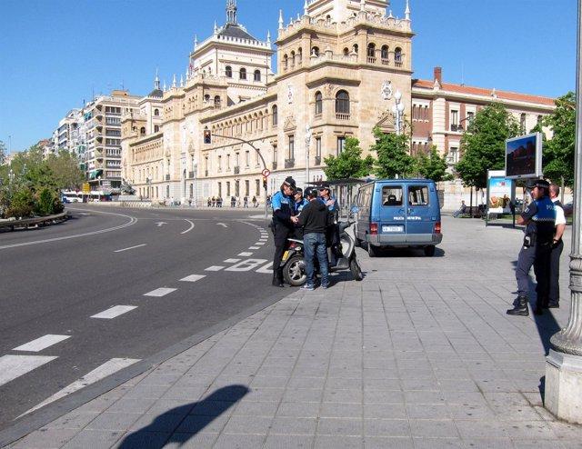 Control Policial A Motocicletas.