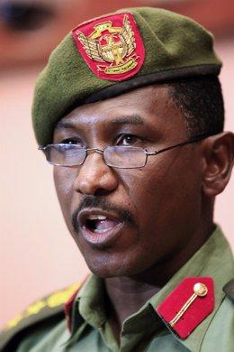 Portavoz Del Ejército De Sudán, Jalid Al Sawarmi