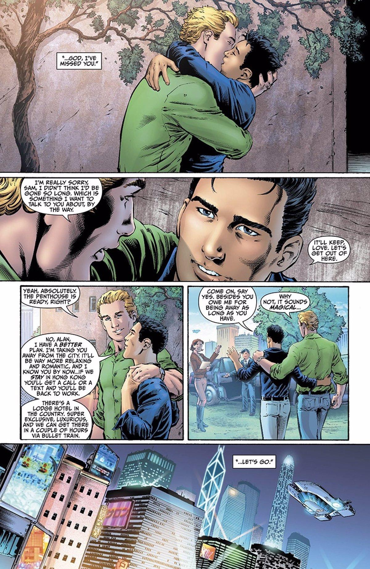 DC saca a Green Lantern (Linterna Verde) del armario
