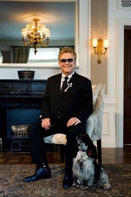 El cantante británico Elton John