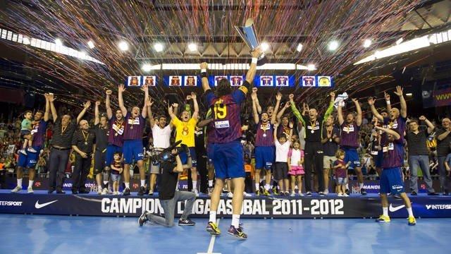 El Barcelona Se Proclama Campeón De Liga Asobal