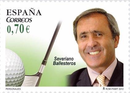 Correos y la Fundación Seve Ballesteros presentarán un sello en homenaje al golfista