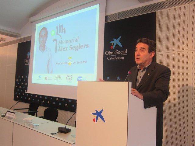 Manuel Bustos, Alcalde De Sabadell Y Pte.De La FMC