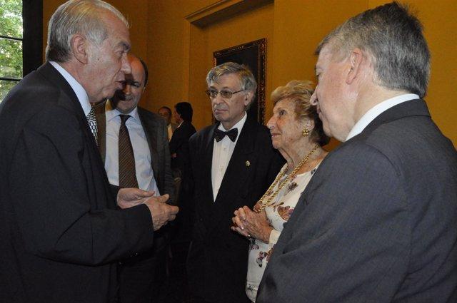 Acto De Homenaje Al Economista Enrique Fuentes Quintana.