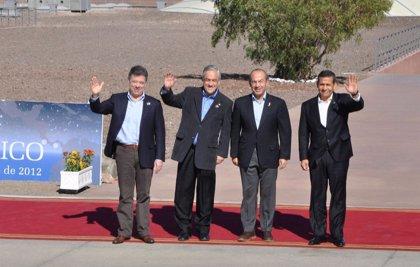 Iberoam.- Chile, Perú, México y Colombia crean oficialmente la Alianza del Pacífico