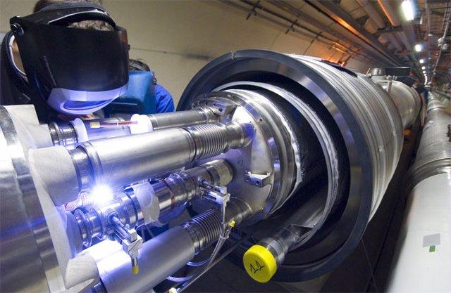 LHC acelerador de partículas