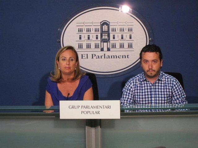 Mabel Cabrer Y Fernando Rubio