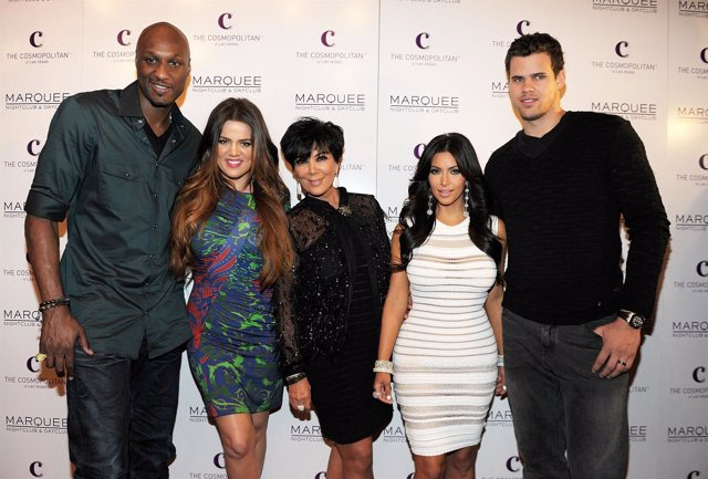 Kim KArdashian, Kris Jenner y Kris Humphries
