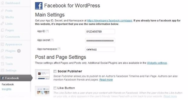 Plugin De Facebook Para Wordpress