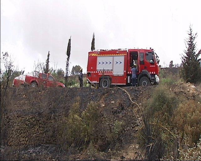 Incendio Forestal En Castellet I La Gornal