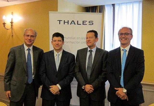 Presentación De Resultados Thales España