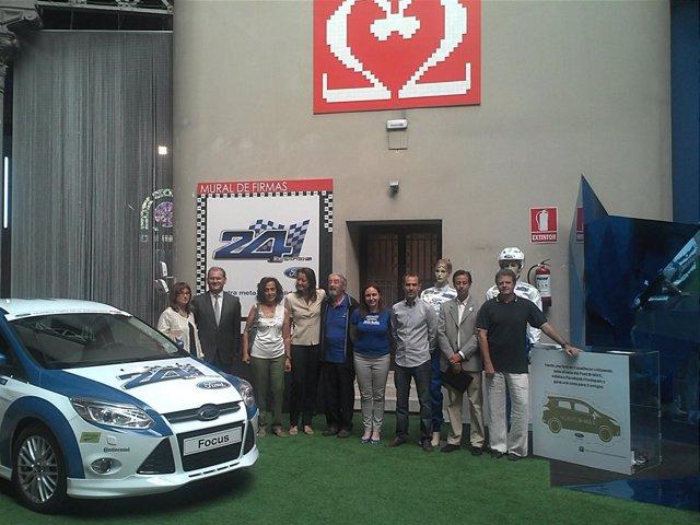 Presentación Del Evento Solidario De Las 24 Horas Organizado Por Ford España