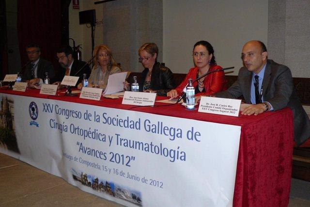 Inauguración Del XXV Congreso De Sociedad Gallega De Cirugía Ortopédica