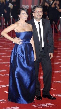 Andreu Buenafuente y Silvia Abril en los premios Goya