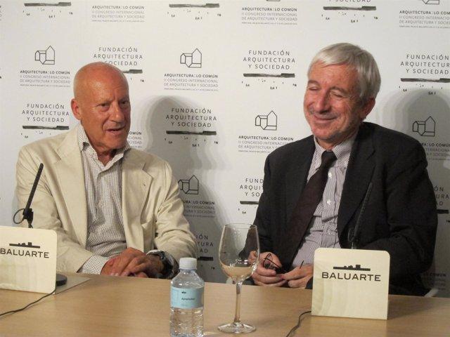 Norman Foster En El II Congreso Internacional De Arquitectura Y Sociedad.