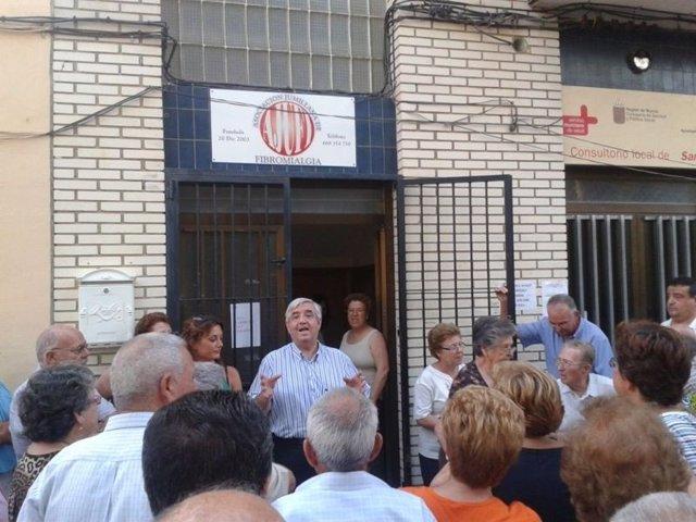 El Alcalde De Jumilla Capitanea La Exigencia Al Servicio Murciano De Salud