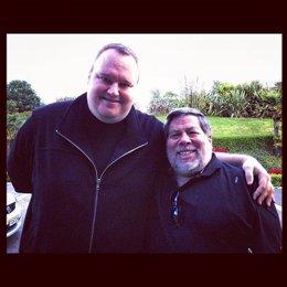 Kim Dotcom Y Steve Wozniak