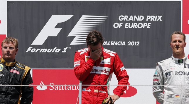 Fernando Alonso Gana En Valencia