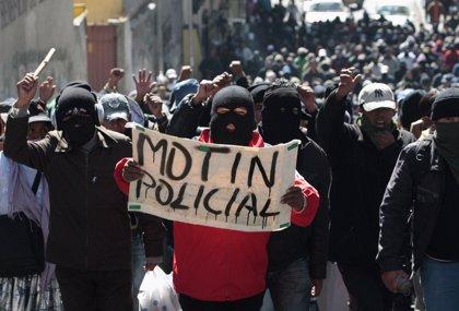 La Policía de Bolivia dice que ha vuelto la normalidad en las comisarías