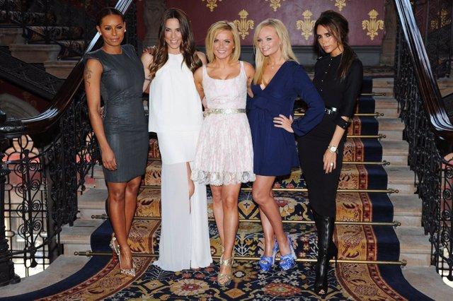 Las Spice Girls se reúnen para la presentación de un musical