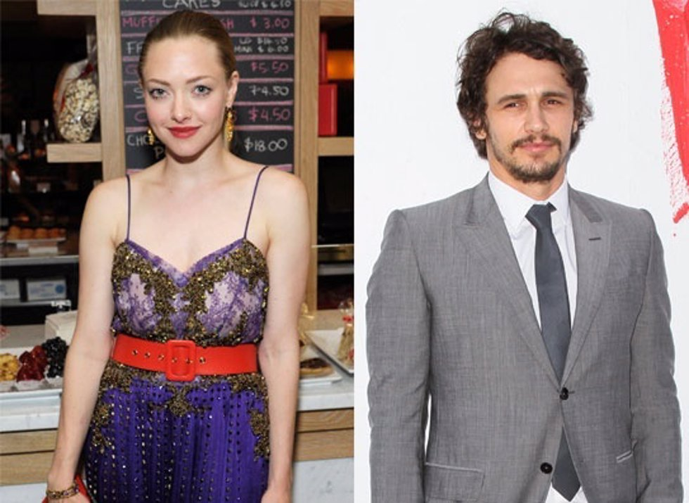 AMANDA SEYFRIED Y JAMES FRANCO