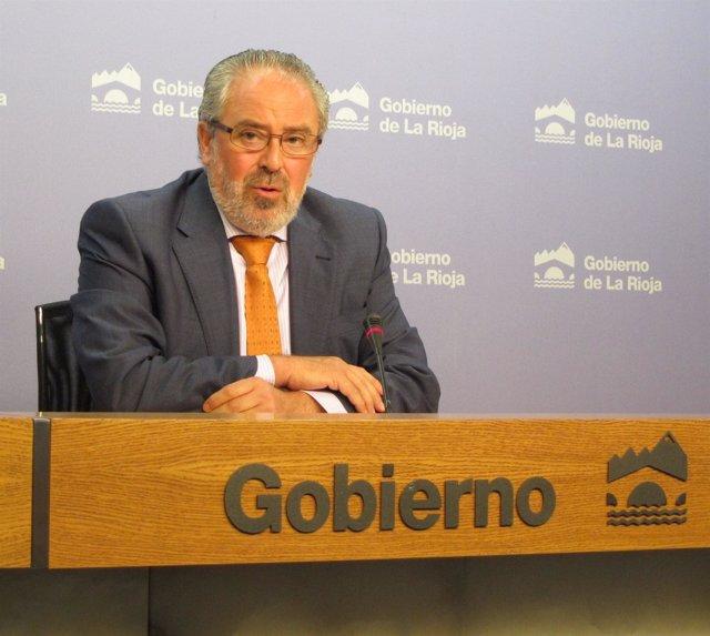 José Ignacio Nieto, Consejero De Salud Y Servicios Sociales