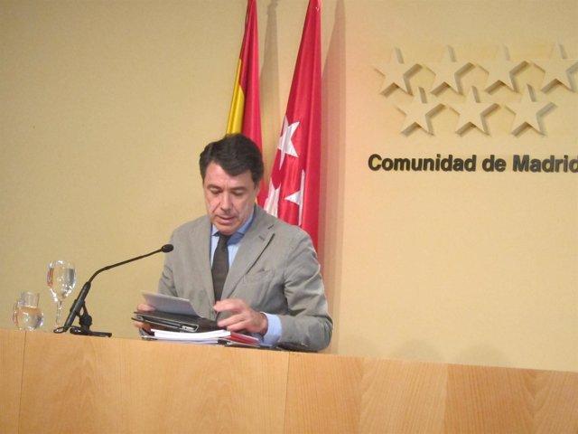 González En La Rueda Posterior Al Consejo De Gobierno